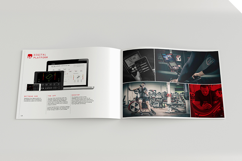 Wattbike commercial brochure | Rob Page Design